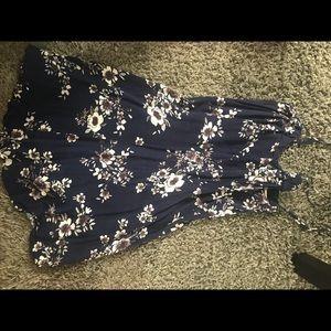 Urban navy blue dress